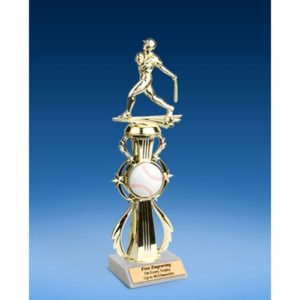 Baseball Sport Riser Trophy, Male