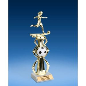 Soccer Sport Riser Trophy, Female