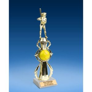 Softball Sport Riser Trophy, Female