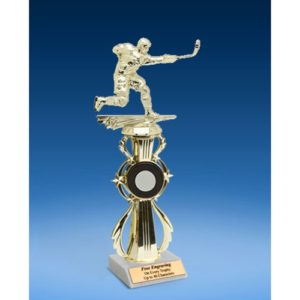 Ice Hockey Sport Riser Trophy, Male