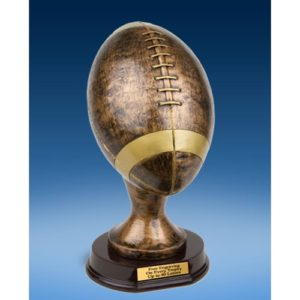 Official Size Football and Fantasy Football Trophy