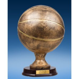 Official Size Basketball Trophy
