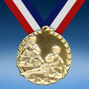 "Karate 1 3/4"" Arrow Medal-0"