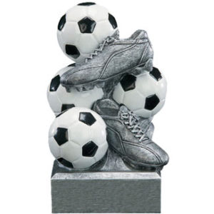 Resin Soccer Bank