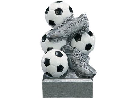 Resin Soccer Bank