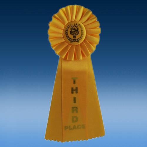 3rd Place Triple Ribbon
