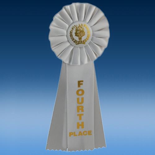 4th Place Triple Ribbon