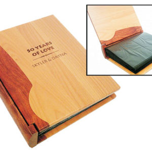 Combo Wood Photo Album