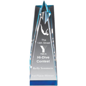 Star Tower Acrylic Award