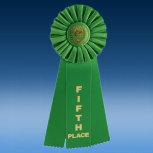 5th Place Triple Ribbon