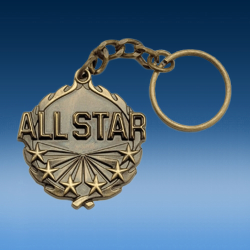 All Star Wreath Keychain-0