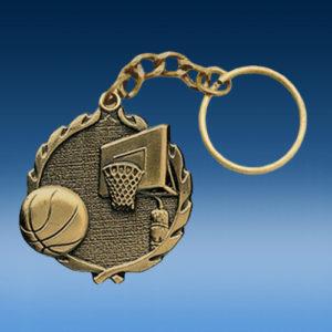 Basketball Wreath Keychain-0