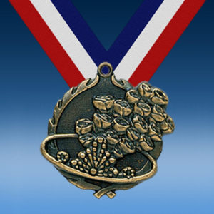 "Beauty Pageant 1 3/4"" Wreath Medal-0"