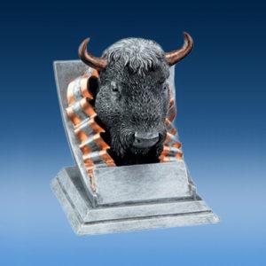 Resin Buffalo Mascot