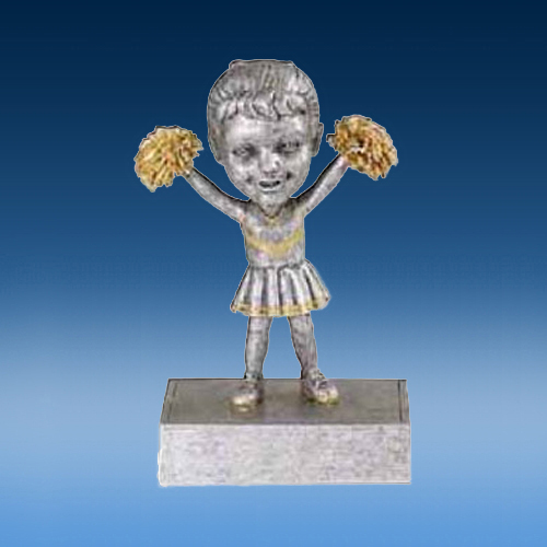 Cheerleader Female Bobblehead