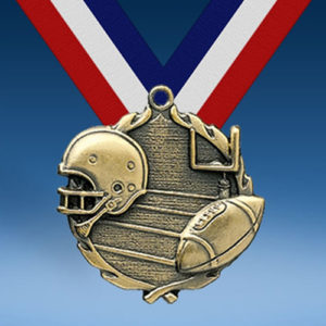 Football Wreath Medal-0