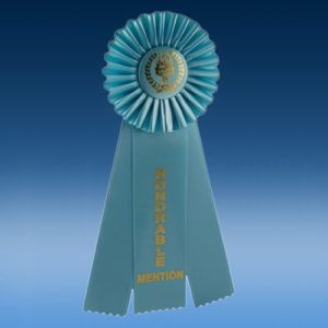 Honorable Mention Triple Ribbon