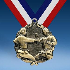 Karate Wreath Medal-0