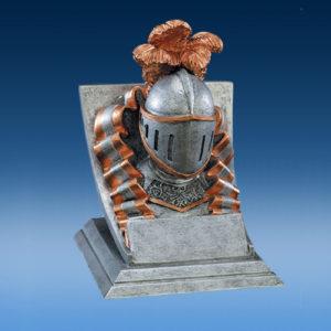 Resin Knight Mascot