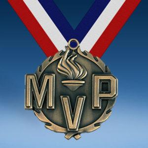 """MVP 1 3/4"""" Wreath Medal-0"""