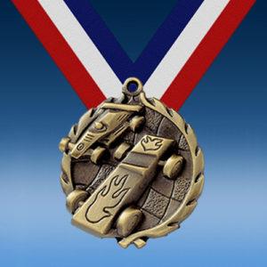 "Pinewood Derby 1 3/4"" Wreath Medal-0"