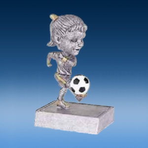 Soccer Female Bobblehead