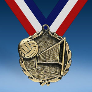 Volleyball Wreath Medal-0