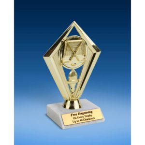 Hockey Diamond Trophy 6""
