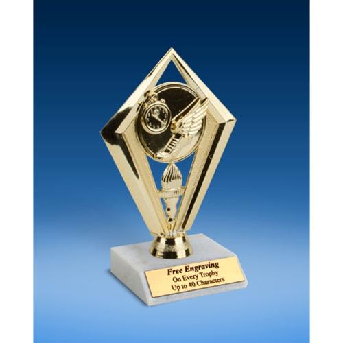 "Track Diamond Trophy 6"""