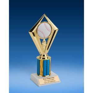 Baseball Diamond Trophy 8""