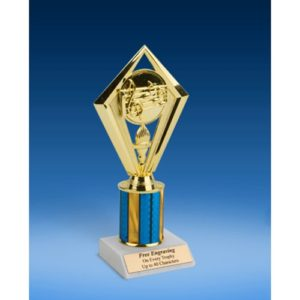 Music Diamond Trophy 8""