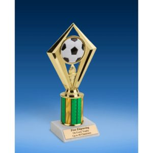 Soccer Diamond Trophy 8""