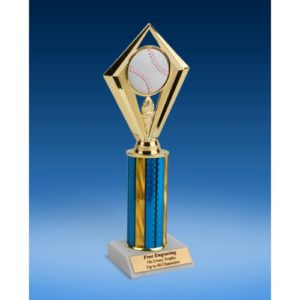 Baseball Diamond Trophy 10""