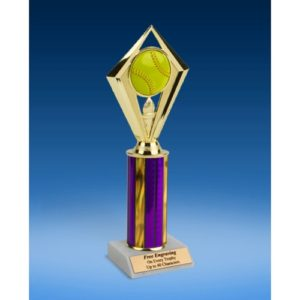 Softball Diamond Trophy 10""
