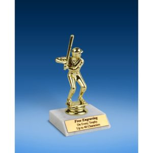 Baseball Sport Figure Trophy 6""
