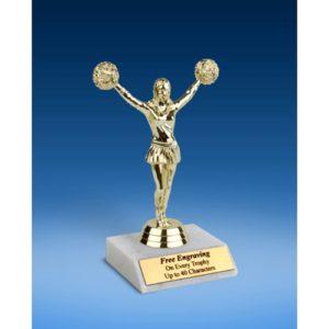 """Cheerleading Sport Figure Trophy 6"""""""