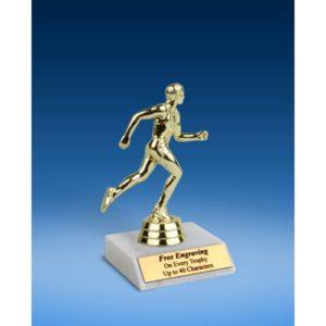 "Track Sport Figure Trophy 6"""