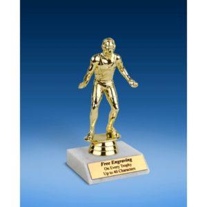 "Wrestling Sport Figure Trophy 6"""