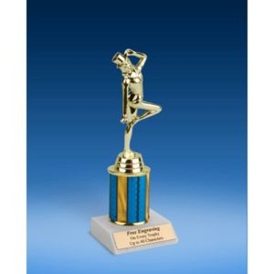 Dance Sport Figure Trophy 8""