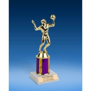 Volleyball Sport Figure Trophy 8""