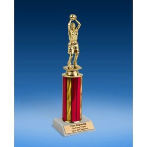 Basketball Sport Figure Trophy 10""