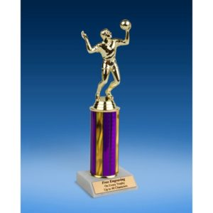 Volleyball Sport Figure Trophy 10""