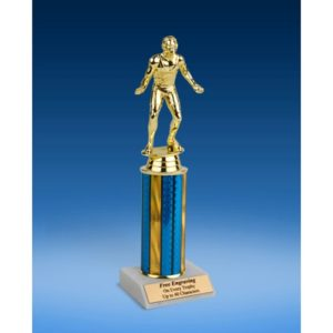 Wrestling Sport Figure Trophy 10""