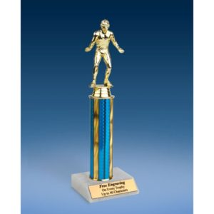 Wrestling Sport Figure Trophy 12""