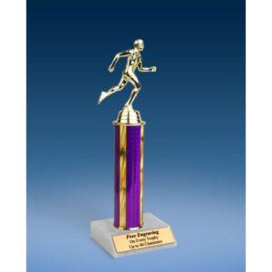 "Track Sport Figure Trophy 12"""