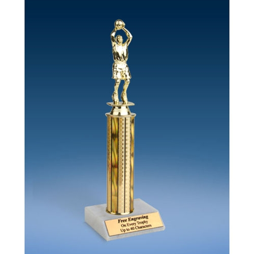 "Basketball Sport Figure Trophy 12"""