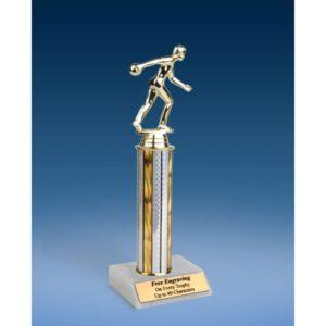 """Bowling Sport Figure Trophy 12"""""""