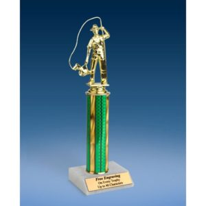 Fishing Sport Figure Trophy 12""