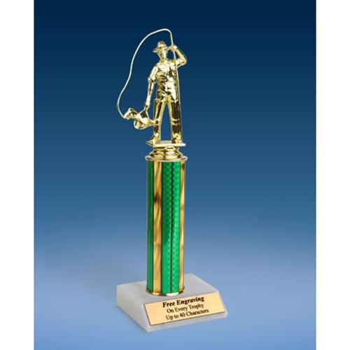 """Fishing Sport Figure Trophy 12"""""""