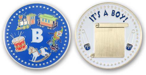 It's A Boy Coin